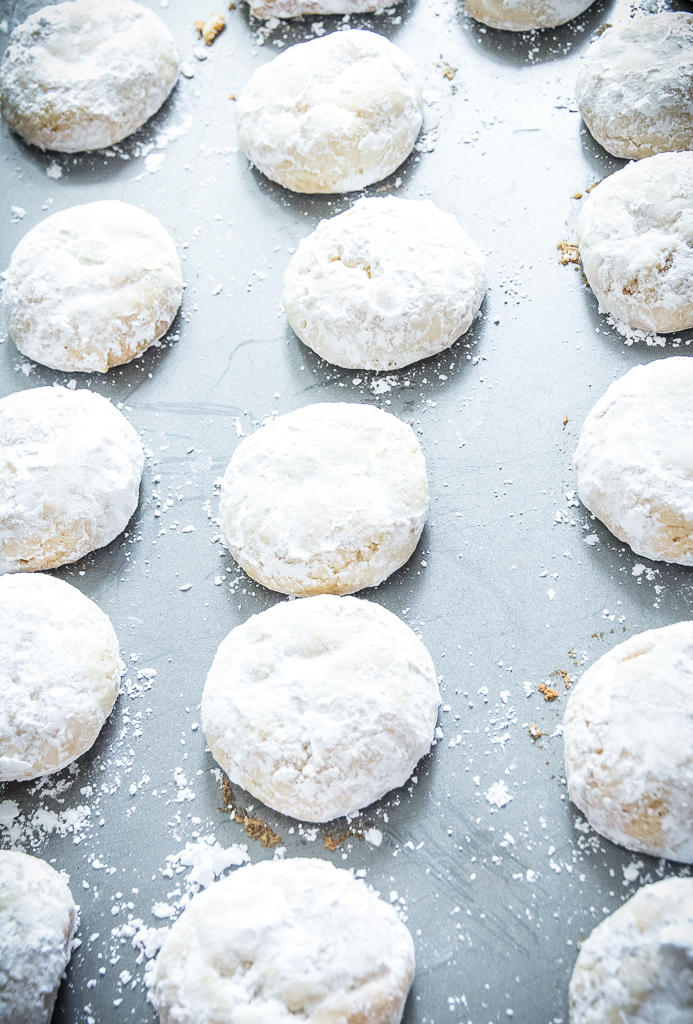 Chewy Lemon Snowdrop Cookies | Festively Made