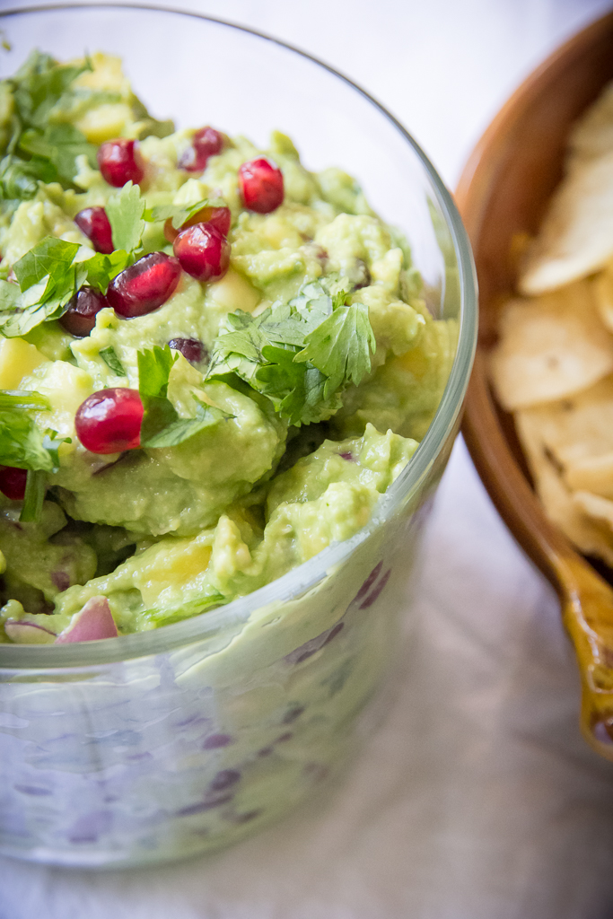 Mango Pomegranate Guacamole | Festively Made