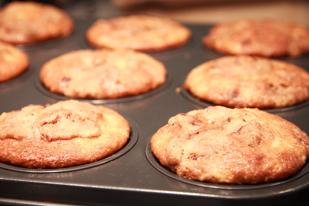 Best Apple Pie Muffins Ever | Festively Made