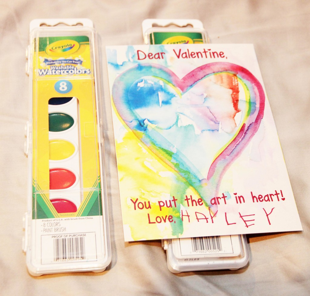 You put the art in heart! Happy Valentine's Day | Festively Made